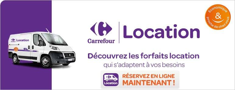 Carrefour Location Louez Voiture Camion Fourgon Dans Votre Magasin